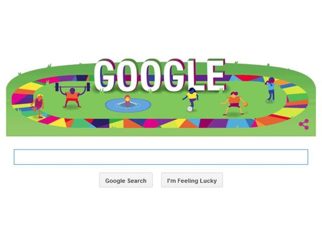 Google doodle,Special Olympics,Athletes