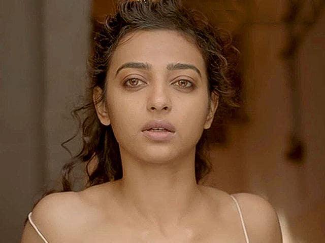 Radhika Apte in a still from Sujoy Ghosh's new short film Ahalya.
