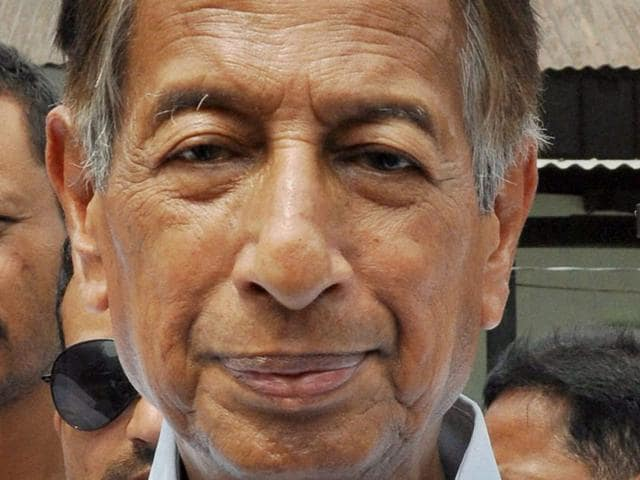 Former union minister Bijoy Krishna Handique died at the age of 82 at Jorhat Medical College in Assam. (PTI File Photo)