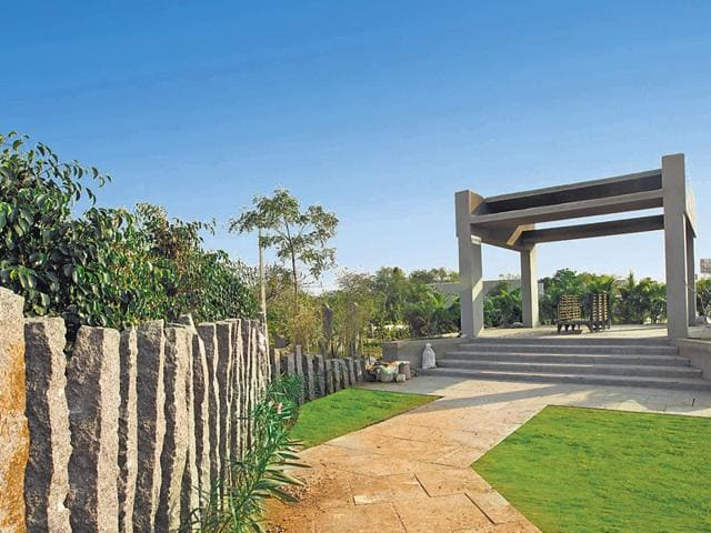 Hyderabad's Vaikunta Mahaprasthanam, inaugurated in March, is a modern-day crematorium that webcasts cremation ceremonies.