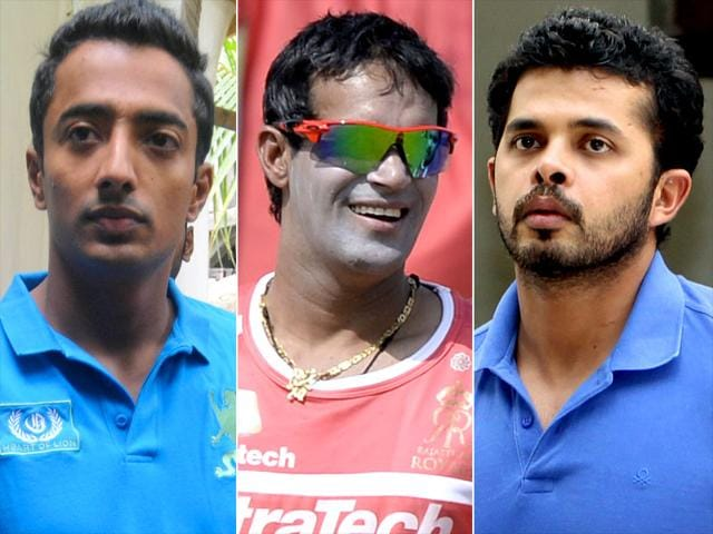Ankeet Chavan, Ajit Chandila and Sreesanth have been acquitted by a Delhi court in the IPL spot fixing case. (File Photo)