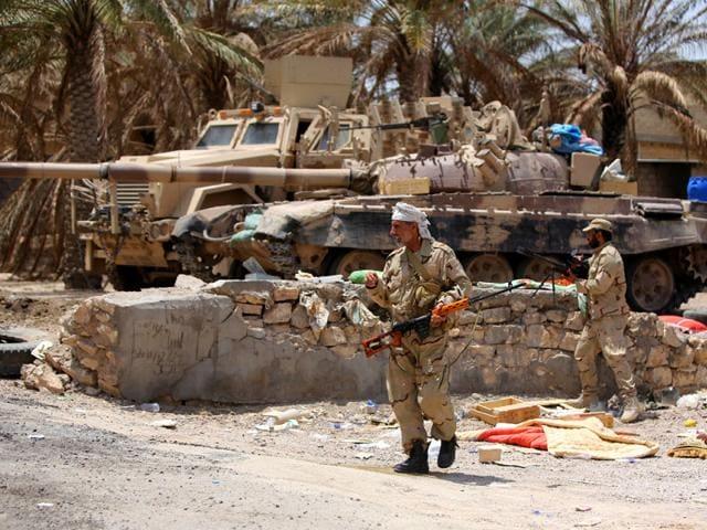 Islamic State,Iraq fighters,Ramadi university