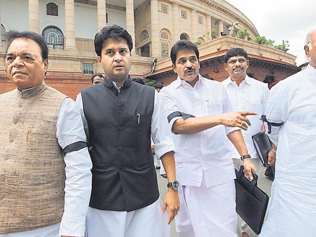 Parliament impasse,Congress,Vyapam