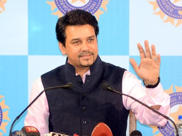 The recent 'no conflict of interest' clause is part of the BCCI's effort to improve its image, following the Justice Lodha verdict suspending IPL franchises Chennai Super Kings and Rajasthan Royals, BCCI secretary Anurag Thakur said. (Prateek Choudhury/ HT file photo)