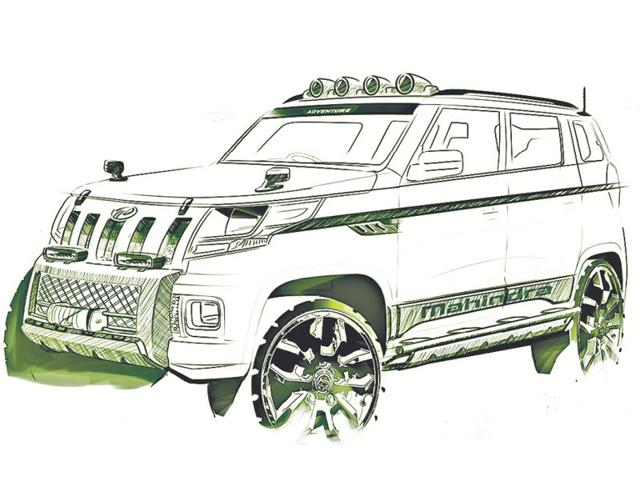 The TUV300 will be made at M&M's Chakan plant