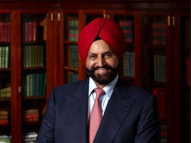 Hotelier Sant Singh Chatwal. HT Photo