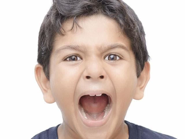 Screaming kid. Photo: Shutterstock