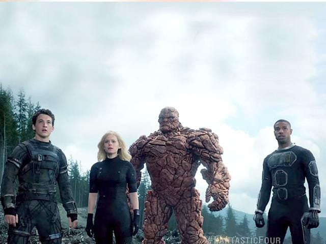 There's nothing fantastic about Josh Trank's Fantastic Four starring Milles Teller, Kate Mara and Jamie Bell. These Marvel superheroes are bound for obscurity, it seems.