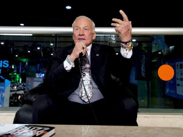 US astronaut Buzz Aldrin. (AFP File Photo)