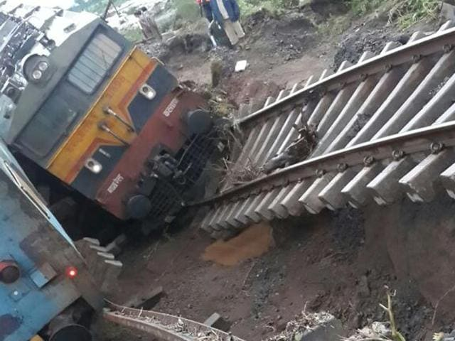 The accident took place at Kudwa, about 18km from the district headquarters Harda, which is between Bhirangi and Khirakia railway stations. (HT Photo)
