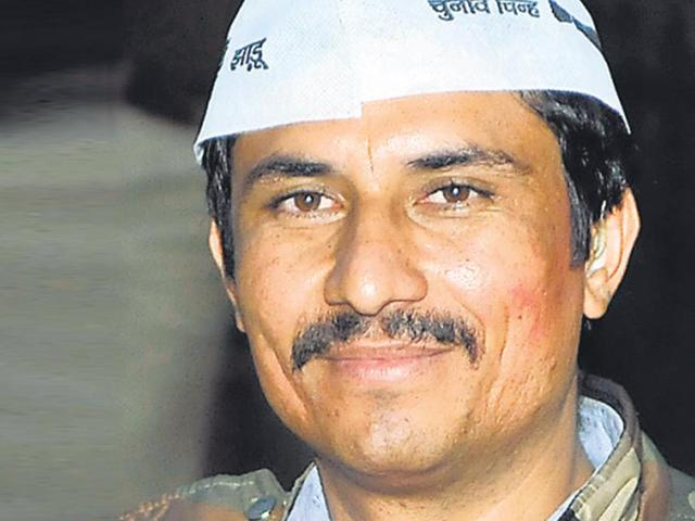 Surinder Singh 'Commando' is AAP MLA from Delhi Cantt. (File Photo)