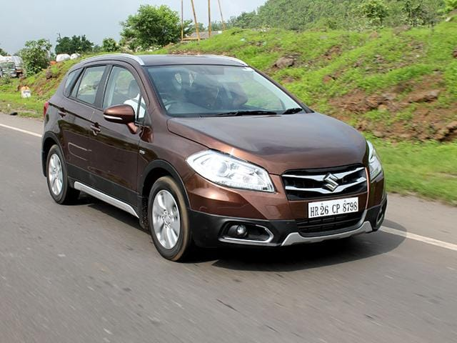 File photo of Maruti Suzuki S-Cross. The car manufacturer has hiked its prices up to Rs 9000. (HT Photo)
