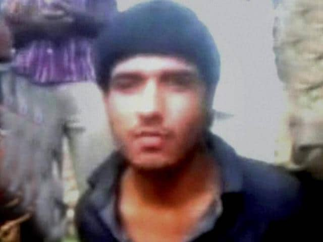 The militant from Pakistan who was captured alive speaks after the attack on a BSF convoy in Jammu and Kashmir. (PTI Photo)