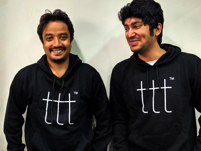 Terribly Tiny Tales's founders Anuj Gosalia (left) and Chintan Ruparel moved from stories to films by launching the YouTube channel — Terribly Tiny Talkies. (Photo: TTT)