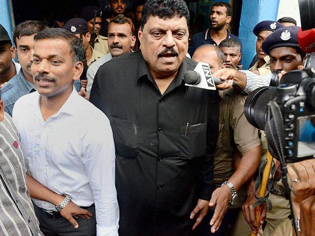 Goa's former PWD Minister Churchill Alemao is accused of accepting bribe from US-based Louis Berger company to award them consultancy for water augmentation and sewerage project funded by JICA. (PTI Photo)