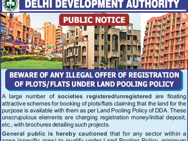 You might end up being a victim of fraud if you invest in a property in Delhi's land pooling zone