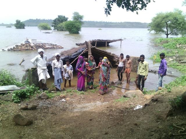 Narmada catchment area,forceful evacuation of villagers,Alok Agarwal