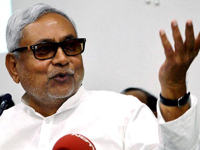 Bihar chief minister Nitish Kumar has taken on Prime Minister Modi in a series of tweets ahead of the Bihar assembly elections. (PTI Photo)
