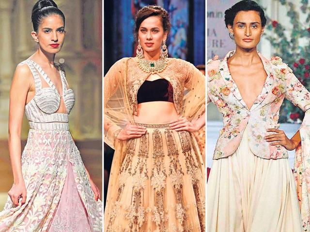 The humble lehenga-choli gets a quirky makeover