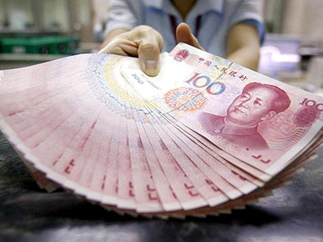 The surprise move meant to support flagging economic growth in China will further dent the competitiveness of Indian exports as Chinese goods become cheaper, aided by a weaker currency even as investors fret over underlying economic weaknesses (HT File Photo)