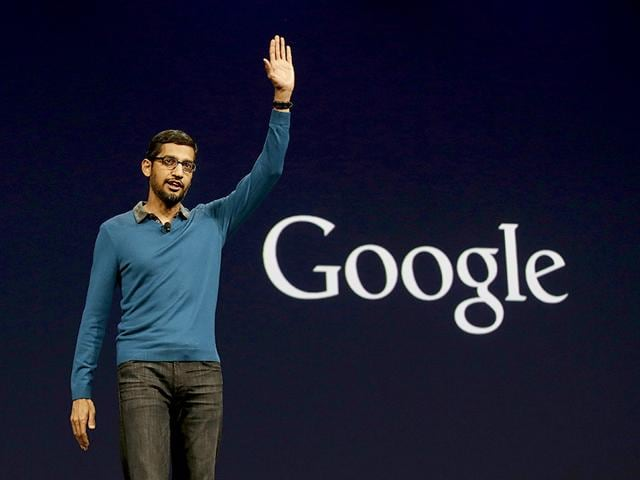 File photo of Sundar Pichai who has been named CEO of Google. (AP File Photo)