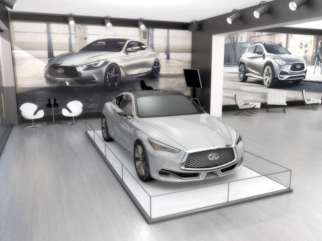 Infiniti will offer visitors two virtual reality experiences at this year's Pebble Beach. Photo:AFP