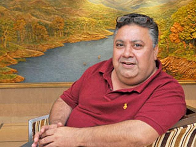TV and film actor Manoj Pahwa.