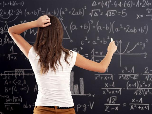 If the very thought of a maths test makes you break out in a cold sweat, the attitude of your parents may be partly to blame as a new study has found that parent's math-anxiety negatively affects kids. (Shutterstock)