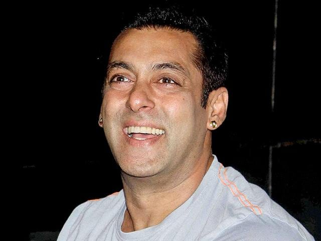 Salman Khan at a press conference in Mumbai on Tuesday. (PTI Photo)