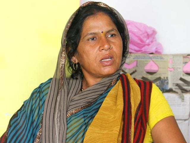 Former dacoit Ruby Singh claims to be a reformed person. (Ritesh Mishra/HT Photo)