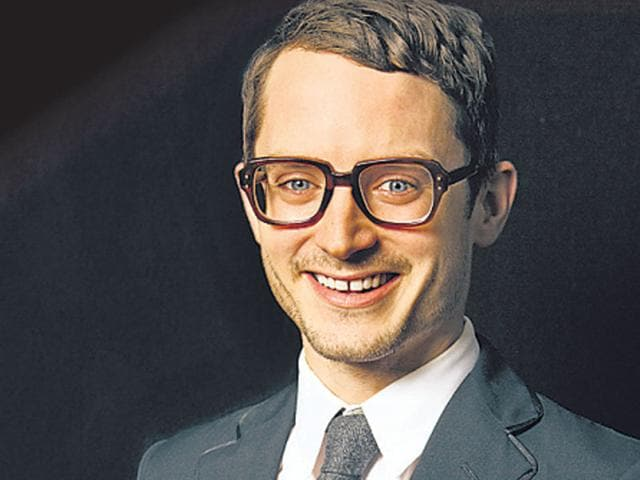 Elijah Wood posed exclusively for HT Café on the streets of Bandra.