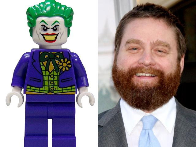 Zach Galifianakis will replace Mark Hamill as the voice of The Joker in the Lego Batman movie. (Shutterstock/Twitter)