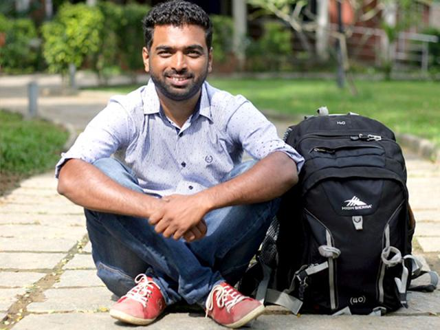 PR professional-turned-traveller Sachin Bhandary.