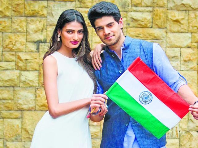 Actors Athiya Shetty and Sooraj Pancholi will make their B-Town debut soon. (Satish Bate/HT photo)