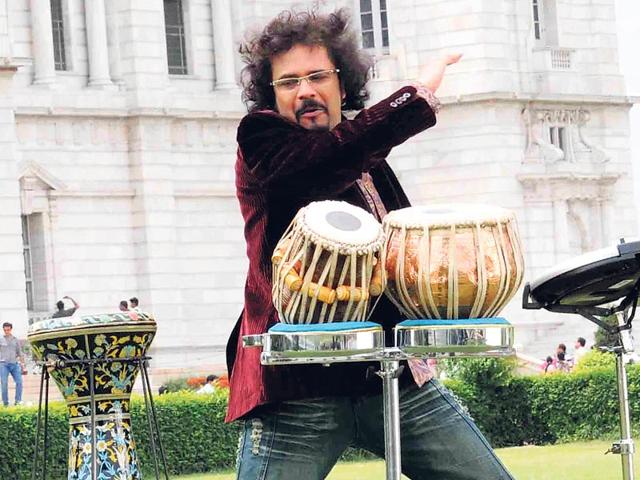 Percussionist Bickram Ghosh has had the good fortune of playing with legends like late George Harrison and late Pt Ravi Shankar.