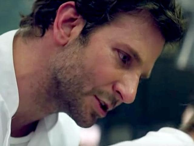 Bradley Cooper is a burnout in Burnt. (YouTube)
