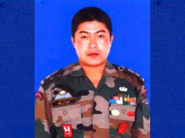 Lt Colonel Nector Sanjebam has been awarded the gallantry award Kirti Chakra on the 69th Independence Day. (Picture credit: PIB)
