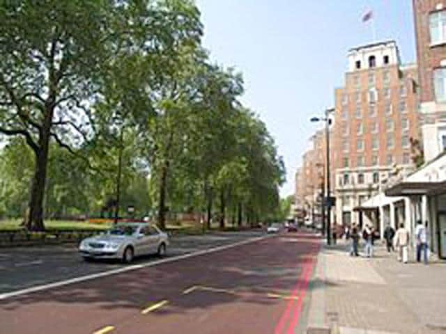 File photo of Grosvenor House Hotel in London. (Picture credit: Wikipedia)