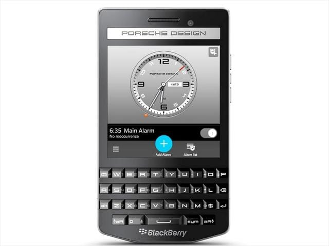 BlackBerry Porsche Design P'9983 Graphite Smartphone.
