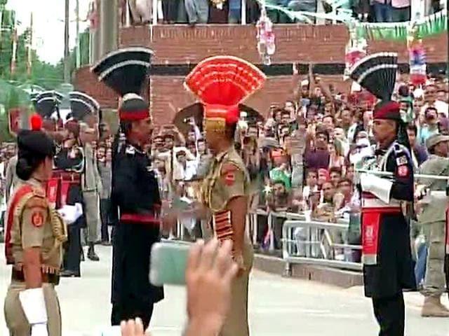 Independence day celebrations,BSF,Wagah- Attari border