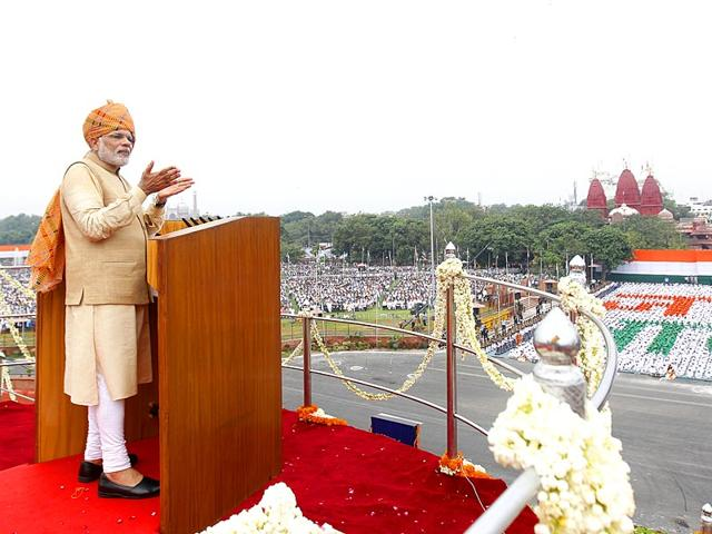 Independence Day live,I-Day live,PM Modi's speech live