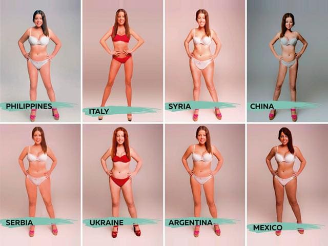 A new 18-country study titled, Perceptions Of Perfection, has explored what a 'perfect body' looks like in different countries. (Superdrug Online Doctor Photo)