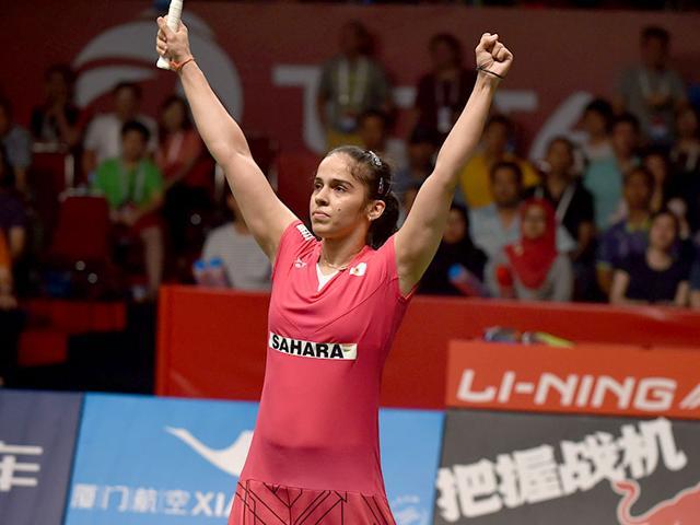 Saina Nehwal,World Badminton Championships,Lindaweni Fanetri