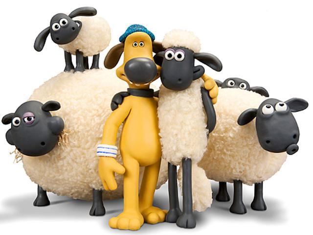 A still from Shaun The Sheep.