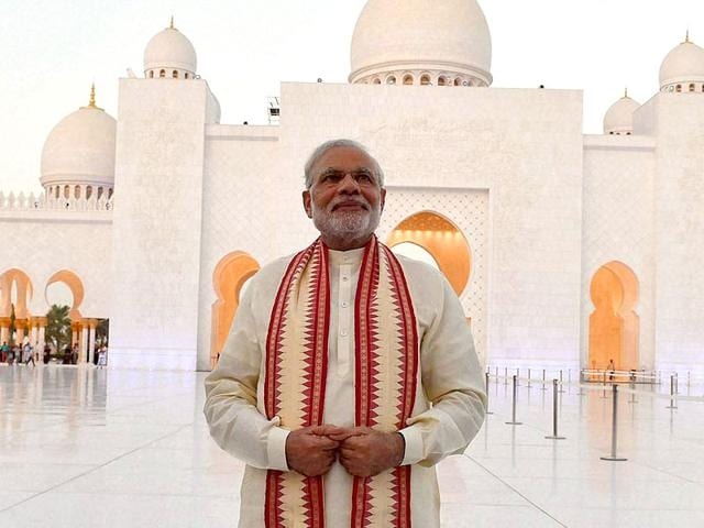Narendra Modi,Modi in UAE,India-UAE ties