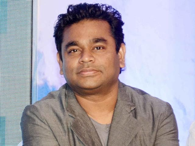 Amit Trivedi and Sneha Khanwalkar are two Bollywood composers AR Rahman appreciates. (Seen here) The celebrated composer at a promotional event of TV series Everest in Mumbai in 2014. (Yogen Shah)