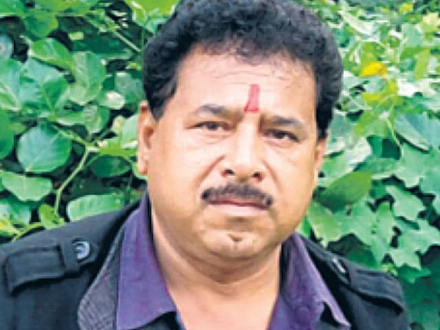 Lallu Yadav, a Lucknow criminal with more than four dozen criminal cases of murder to his name, has decided to rebrand himself as an actor. With a movie releasing on August 21, and another on the way, the former gangster seems determined to continue down this new line of work (HT Photo)