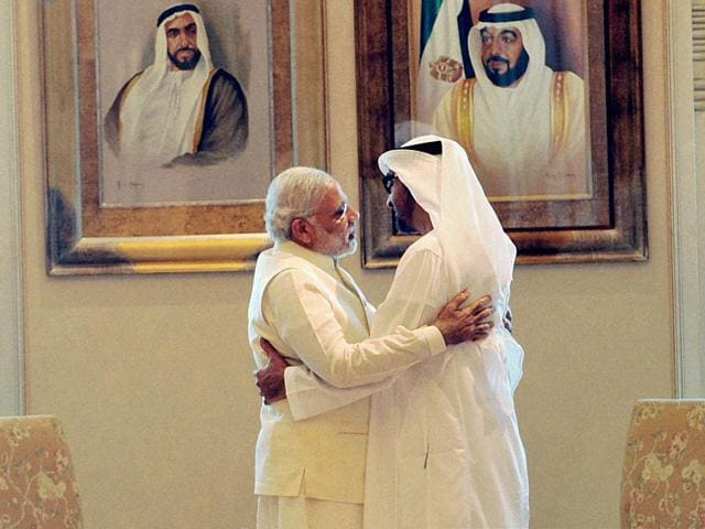 Narendra Modi UAE visit,Narendra Modi in Abu Dhabi,India UAE joint statement