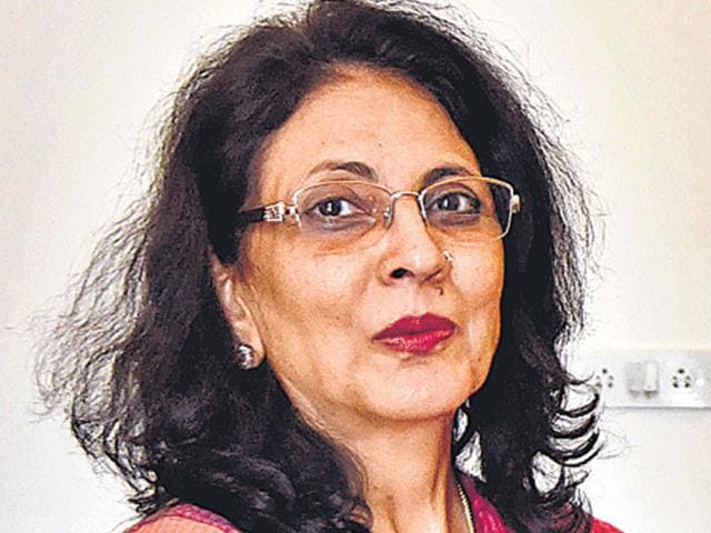 A file photo of CBDT chairperson Anita Kapur. (Vipin Kumar/ HT Photo)