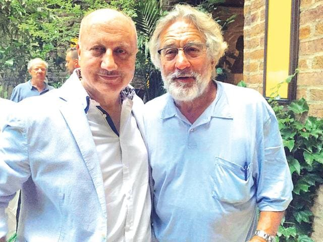 Anupam Kher partied with Robert DeNiro and George Lucas. (File)